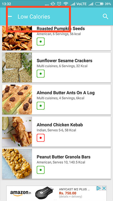 Healthy Recipes : Low Calorie Weight Loss Foods - Low Calories