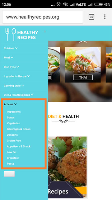 Healthy Recipes : Low Calorie Weight Loss Foods - Articles