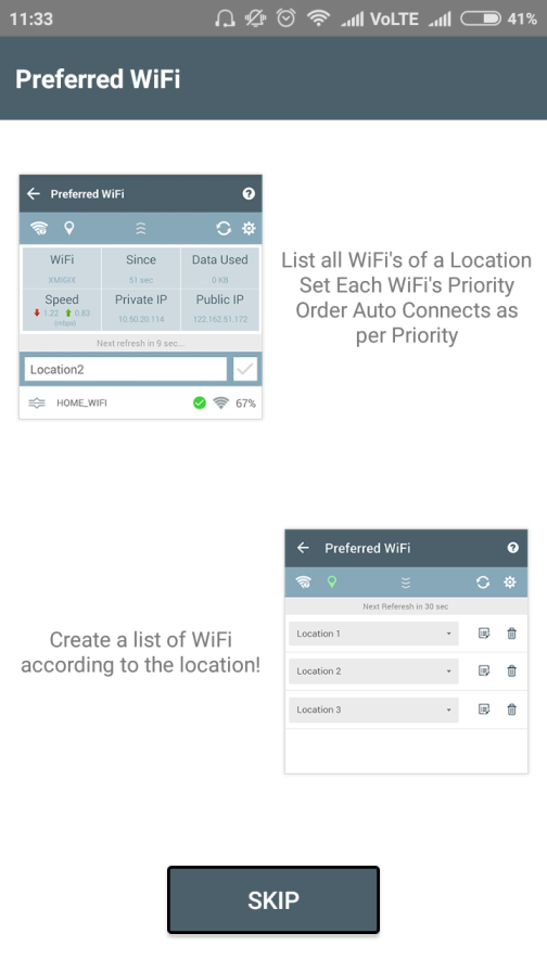 Super WiFi Manager - Preferred WiFi