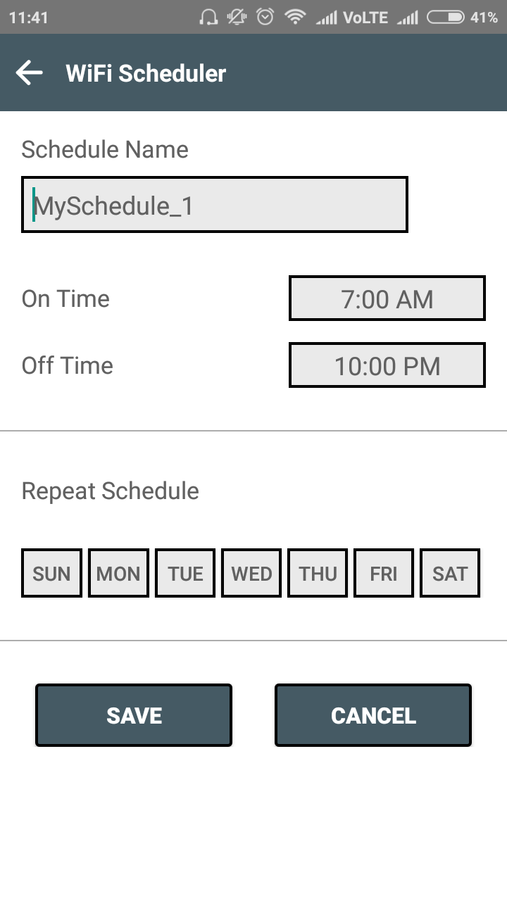 Super WiFi Manager - WiFi Scheduler