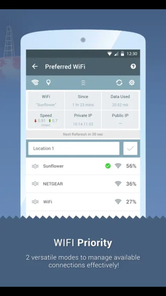 Super WiFi Manager - WiFi Priority