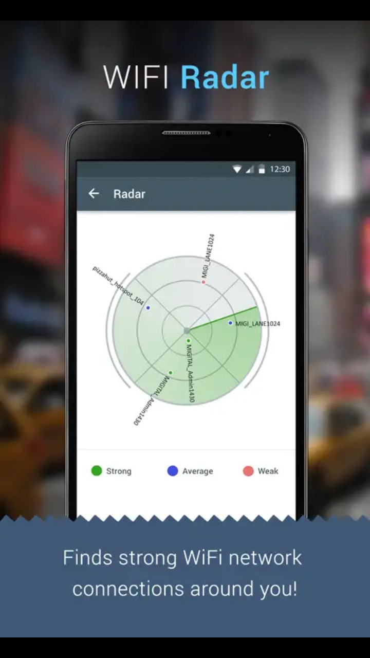 Super WiFi Manager - WiFi Radar