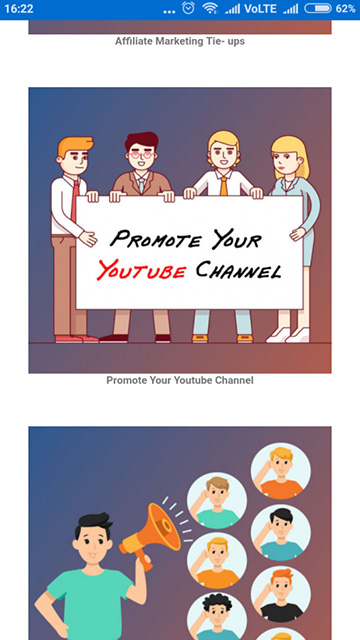 My YouTube Channel App Maker - Promote your YouTube Channel