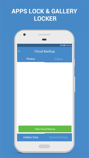 Apps Lock & Gallery Hider - Cloud Backup