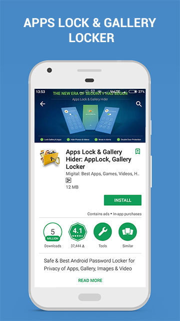 Apps Lock & Gallery Hider - Play Store