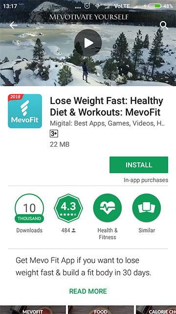 Lose Weight Fast - Play Store