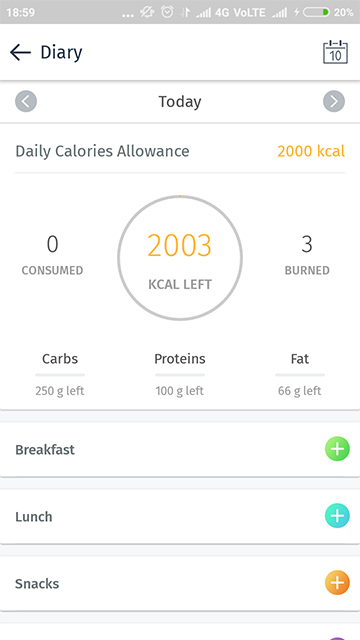 Lose Weight Fast - Diary